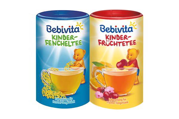 Trà dinh dưỡng cho bé trên 1 tuổi Bebivita 400g của Đức
