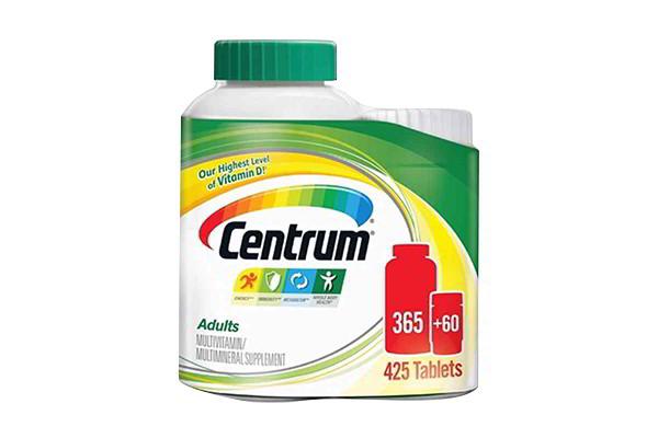 Centrum multivitamin 365 viên của Mỹ - Vitamin cho người dưới 50 tuổi
