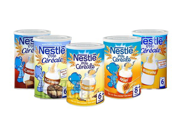 Ngũ cốc pha sữa Nestlé Céréale 5 loại ngũ cốc 400g của Pháp
