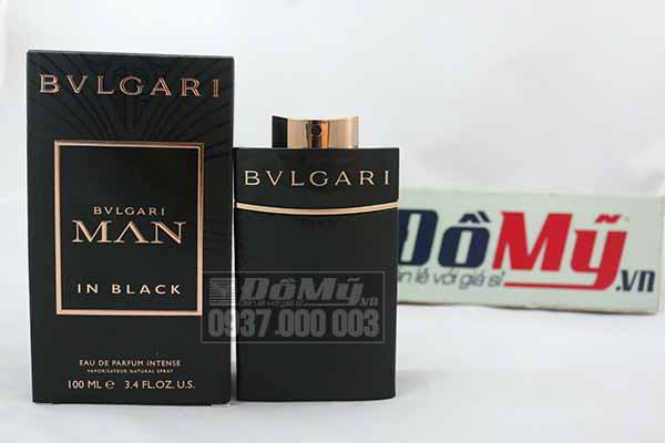 Nước hoa nam cao cấp BVLGARI MAN IN BLACK 100ml của Ý