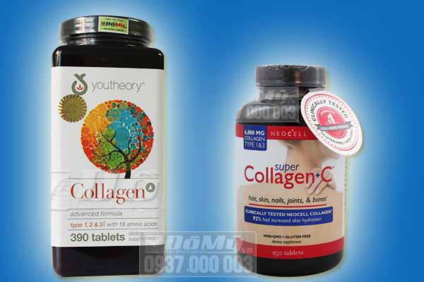 So sánh và đánh giá chi tiết 2  Collagen của Mỹ tốt nhất hiện nay