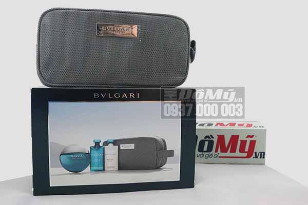Bộ sản phẩm nước hoa cho nam BVLGARI AQVA Pour Homme Marine của Ý