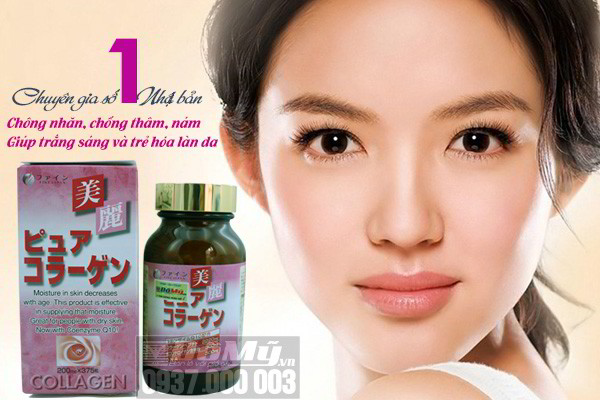 mua collagen fine pure nhật bản
