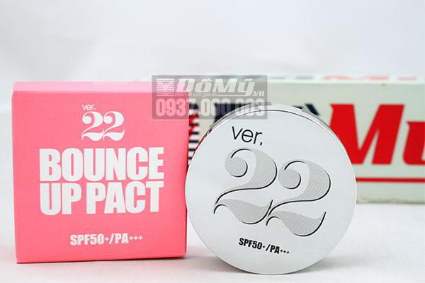 Phấn tươi Ver 22 Bounce Up Pact SPF 50+/ PA+++ Hàn Quốc