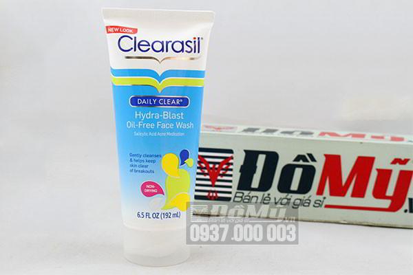 Sữa rửa mặt trị mụn Clearasil Daily Clear 192ml của Mỹ