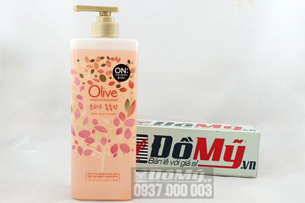 Sữa tắm On The Body Olive Moisture Body Wash của Hàn Quốc loại 900ml