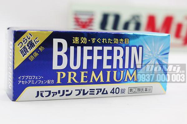 Viên uống giảm đau hạ sốt Bufferin Premium hộp 40 viên của Nhật Bản
