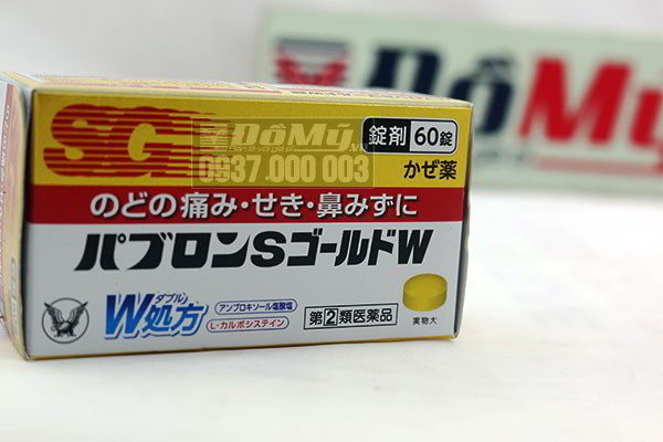 Viên uống trị cảm cúm SG 60 viên của Nhật Bản