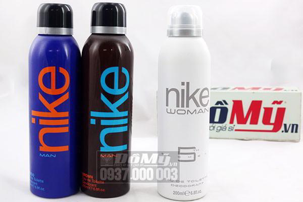 Xịt khử mùi toàn thân Nike Original dành cho Nam và Nữ 200ml của Tây Ban Nha