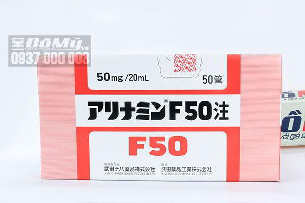 Tiêm tế bào gốc tỏi Arinamin F50 Nhật Bản