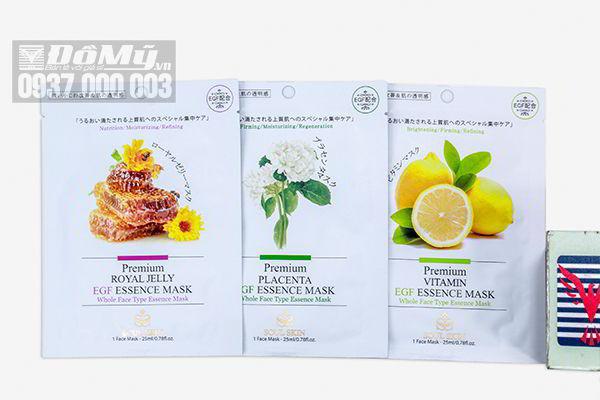Mặt nạ dưỡng da Soul Skin Premium EGF Essence Mask của Hàn Quốc
