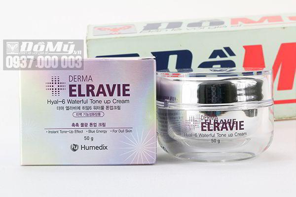 Kem dưỡng trắng trị nám Elravie Hyal – 6 Waterful Tone Up Cream