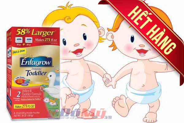 Sữa bột Enfagrow ® Premium ™ Toddler 850g dành cho trẻ từ 9 - 24 tháng nhập từ Mỹ
