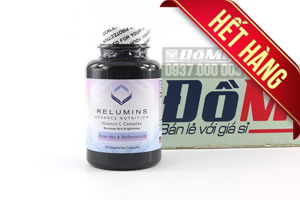 Viên uống trắng da Relumins Advance Nutrition Vitamin C Complex 60 viên của Mỹ