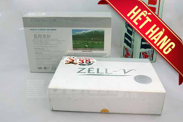 Nhau Thai Cừu Zell V 30 viên của New Zealand