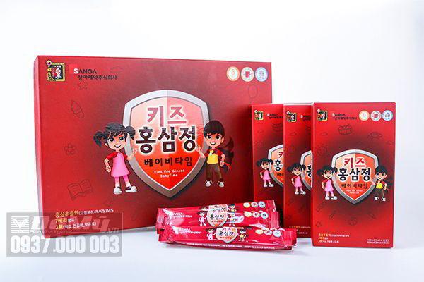 Hồng sâm cho trẻ em Kid Red Ginseng Baby Time của Hàn Quốc
