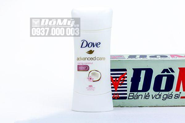 Lăn khử mùi dạng sáp Dove Advanced Care 74g của Mỹ