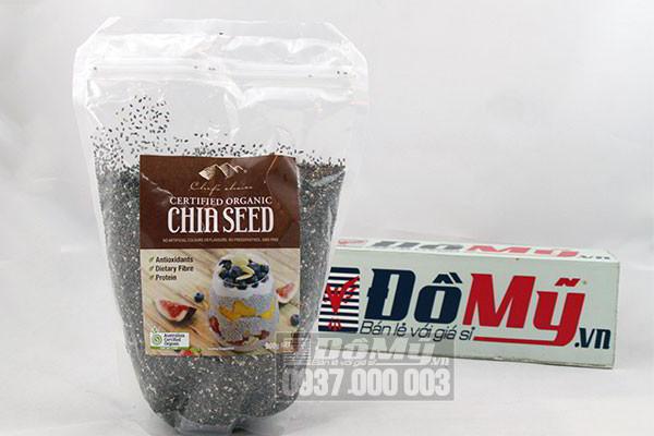 Hạt Chia Seed Chef's Choice Certified Organic 500g của Úc