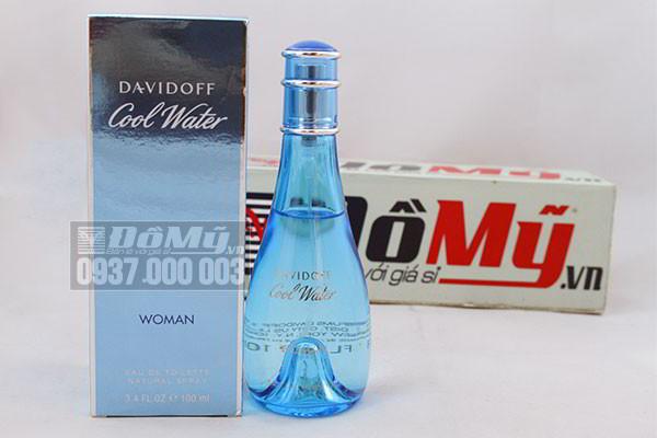 Nước hoa nữ Davidoff Cool Water Women 100 ml của Pháp