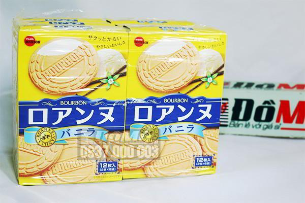 Bánh Bourbon Roanne Vanilla 12 cái của Nhật Bản