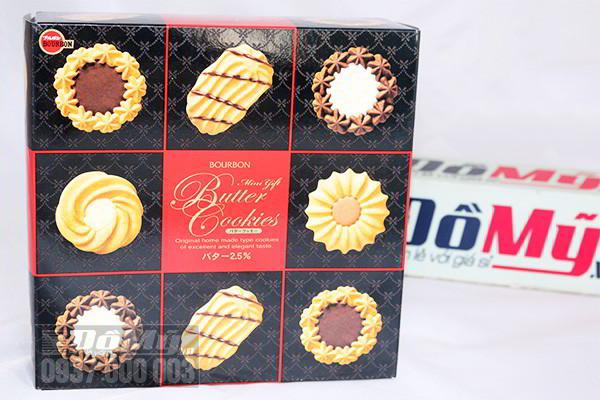 Bánh quy Bourbon Mini Gift Butter Cookies 335g của Nhật Bản