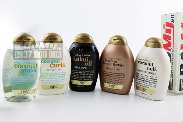 Trọn bộ dầu gội dưỡng tóc OGX 385ml của Mỹ