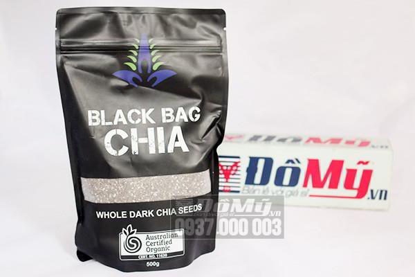 Hạt Chia Úc Black Bag Chia 500g của Úc