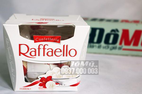 Kẹo chocolate nhân kem dừa Raffaello 150g của Đức