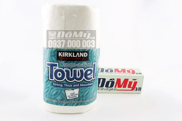 Khăn giấy dạng cuộn Kirkland Towel từ Mỹ