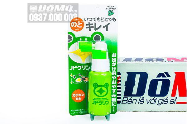 Thuốc xịt họng trị ho Tampei cho bé của Nhật