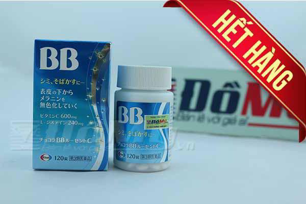 Viên uống thuốc đặc trị mụn, nám, tàn nhang Chocola BB Lucent C 120 viên Nhật Bản