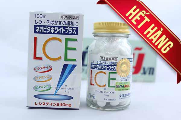 Viên uống đặc trị nám tàn nhang, làm trắng da L.C.E của Nhật Bản 180 viên của Nhật Bản