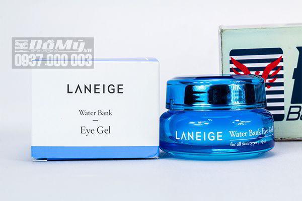 Kem dưỡng ẩm và chống nhăn vùng mắt Laneige Water Bank Eye Gel 25ml của Hàn Quốc