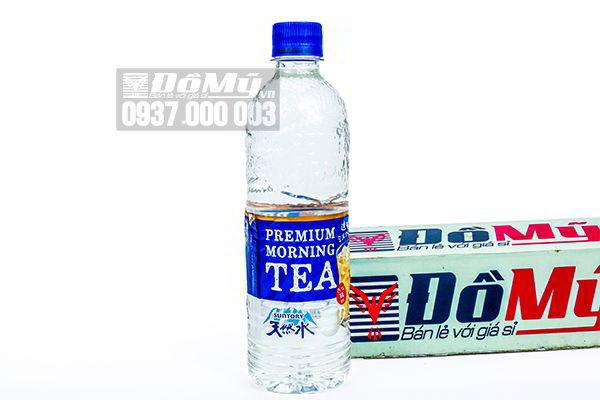 Nước lọc vị trà sữa Premium Moring Tea 550ml của Nhật Bản