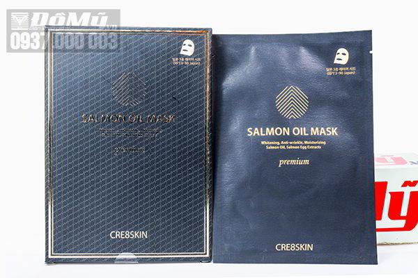 Mặt nạ cá hồi Salmon Oil Mask của Hàn Quốc