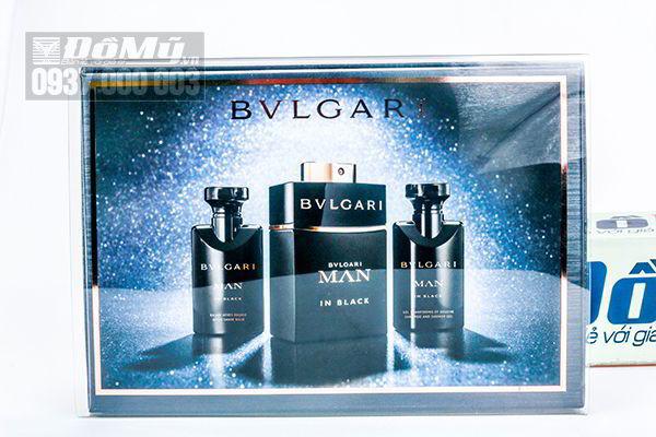 Bộ quà tặng nước hoa Bvlgari Man In Black Eau De Parfum Spray của Ý