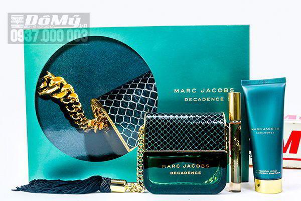 Bộ nước hoa và dưỡng thể Marc Jacobs Decadence