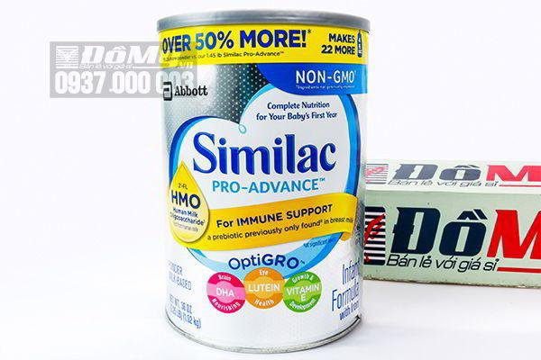 Sữa bột Similac Pro Advanced HMO Non – GMO dành cho bé từ 0-12 tháng 1.02kg của Mỹ