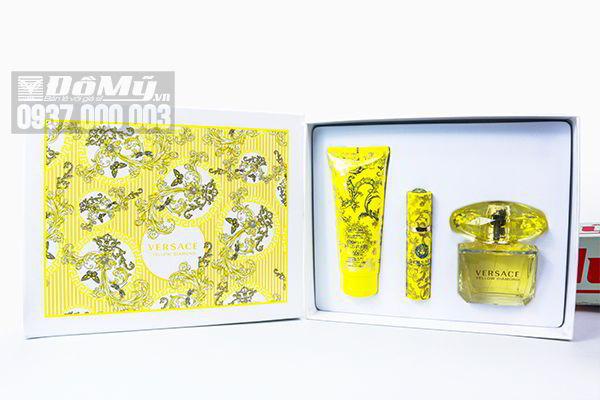 Bộ nước hoa Versace Yellow Diamond Giftset của Ý