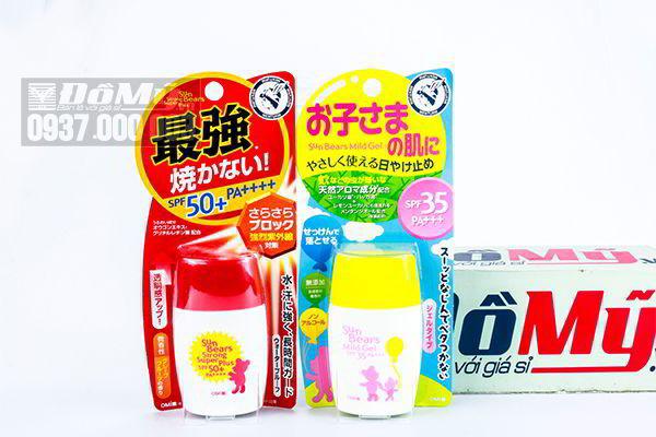 Kem chống nắng cho bé Sun Bears SPF 50++ của Nhật Bản