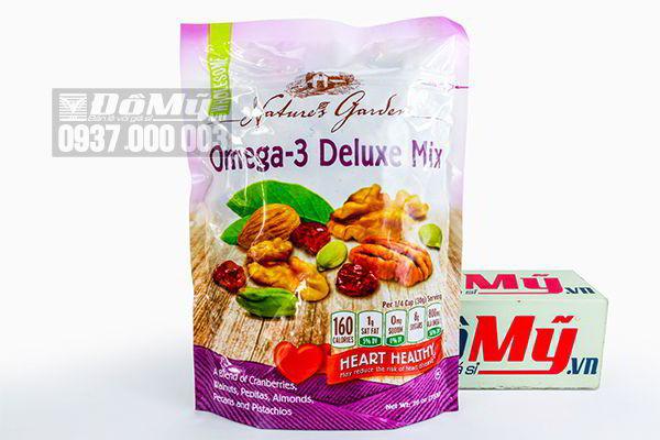 Hạt tổng hợp  sấy khô Omega 3 Deluxe Mix 737g của Mỹ