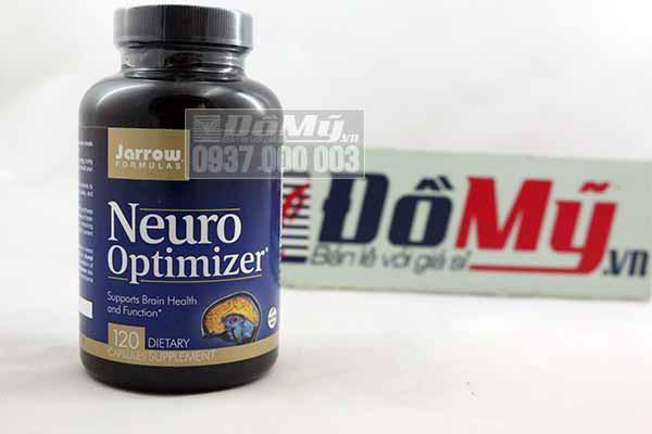 Viên uống tăng cường trí nhớ Neuro Optimizer Jarrow Mỹ hộp 120 viên của mỹ