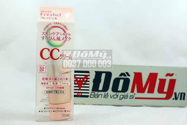 Kem nền trang điểm CC Kanebo Freshel CC cream SPF 32 PA++ Nhật Bản