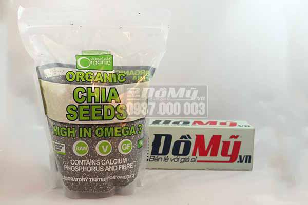 Hạt chia đen Absolute Organic Bịch 1kg