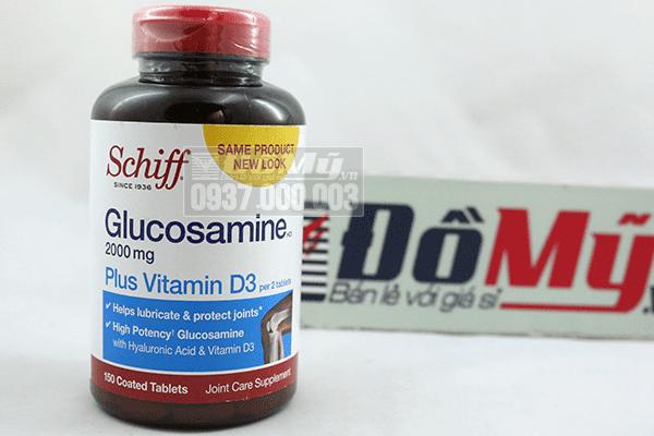 Glucosamine plus Vitamin D - Hộp 150 viên - Trị đau khớp - Mỹ