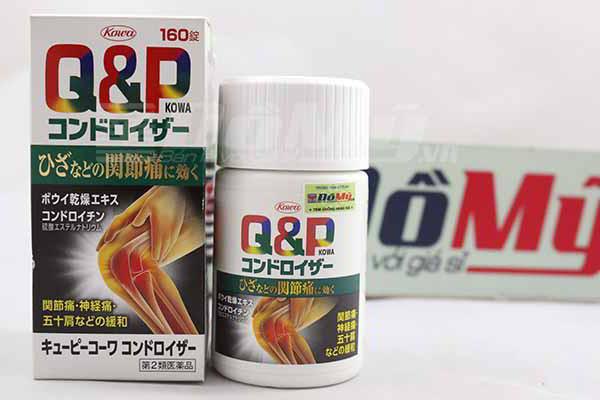 Viên uống thuốc bổ khớp Q&P 160 viên Kewpie Kowa Kondoroiza của Nhật Bản