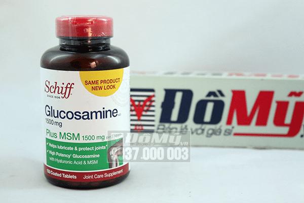 Schiff ® Glucosamine 1500mg plus MSM Hộp 150 viên - Mỹ