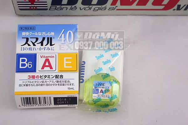 Thuốc nhỏ mắt 40 EX từ Nhật Bản