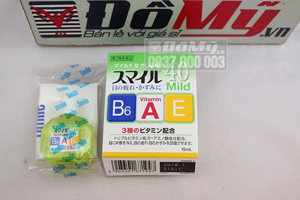 Thuốc nhỏ mắt 40 Mild của Nhật