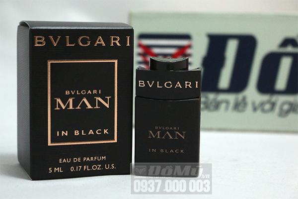 Nước hoa Bvlgari Man In Black 5ml